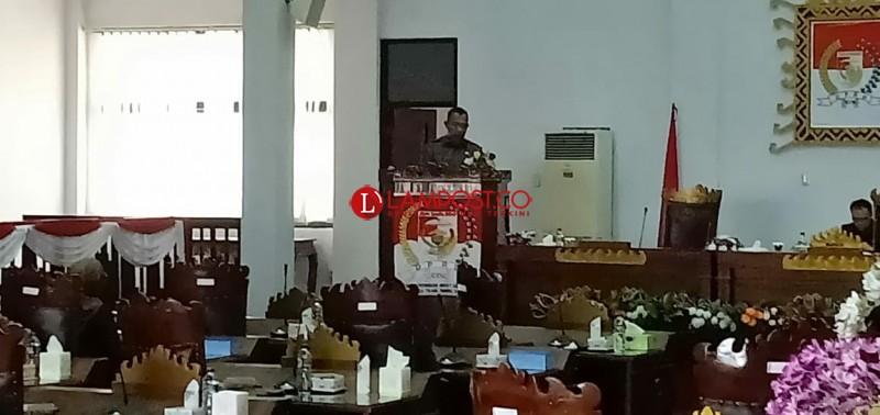 DPRD Tubaba Gelar Paripurna Pengesahan Raperda APBD-P 2018