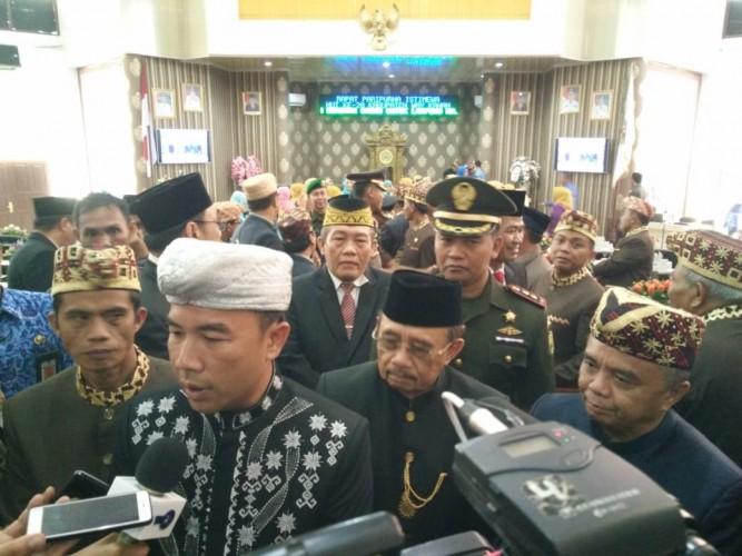 DPRD Way Kanan Gelar Rapat Paripurna Istimewa HUT Ke-20 Kabupaten