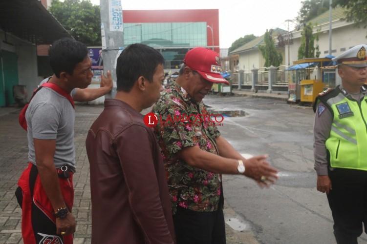 Drainase di Pasar Bandarjaya Tersumbat, Bupati Jadwalkan Gotong Royong