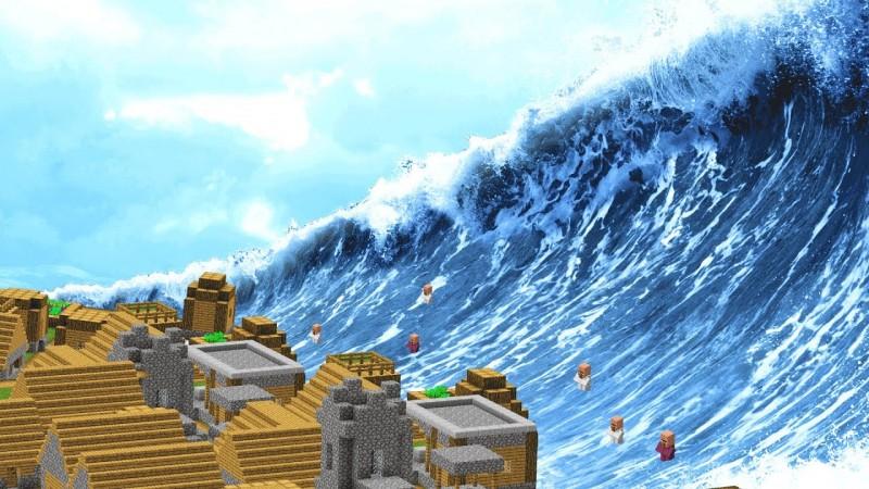 Duh, Wilayah Tanggamus Miliki Potensi Tsunami Tertinggi Se-Lampung