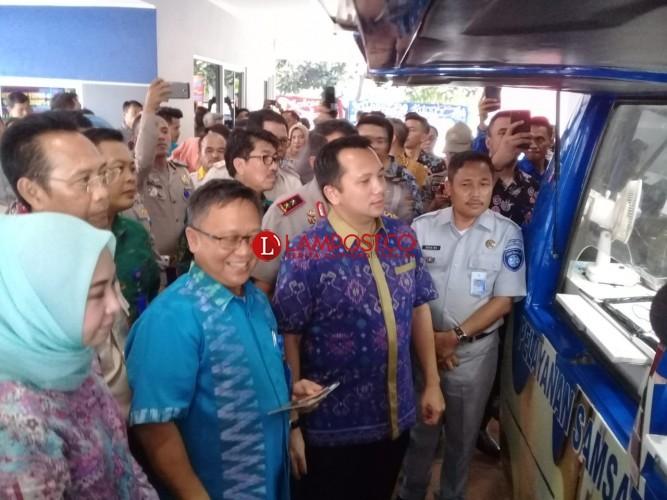 Dukung E-Samsat, Bank Lampung Tambah 55 Unit ATM