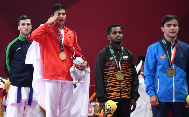 Dulang Medali, Tim Karate Indonesia Tidak Diberikan Istirahat