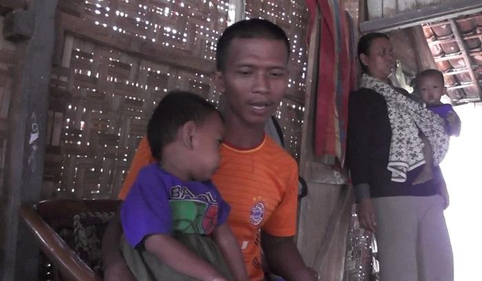 LAMPUNG POST | Ginjal Bocor, Buah Hati Syarif Butuh Bantuan