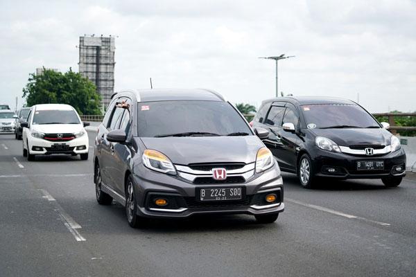 LAMPUNG POST | Rekor Konsumsi Bahan Bakar Honda Mobilio Terpecahkan