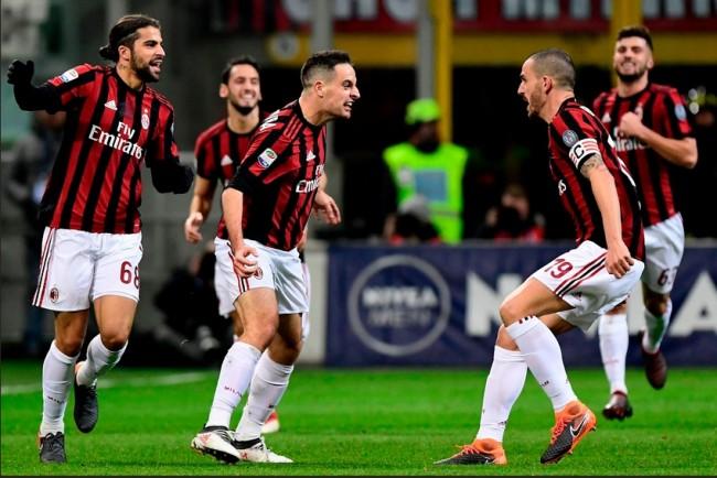 LAMPUNG POST | Tekuk Sampdoria, Milan Perpanjang Catatan Tak Terkalahkan
