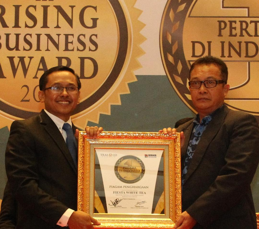 """Fiesta White Tea Raih Penghargaan """"Pertama di Indonesia"""""""