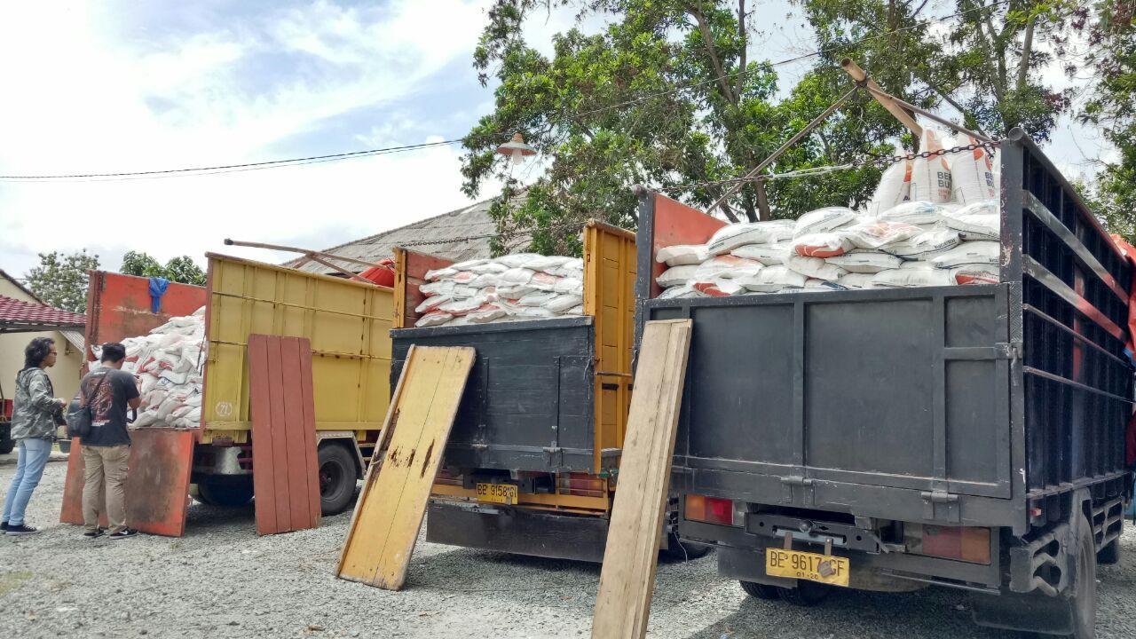 Polres Lampung Tengah Bongkar Penyelewengan Raskin