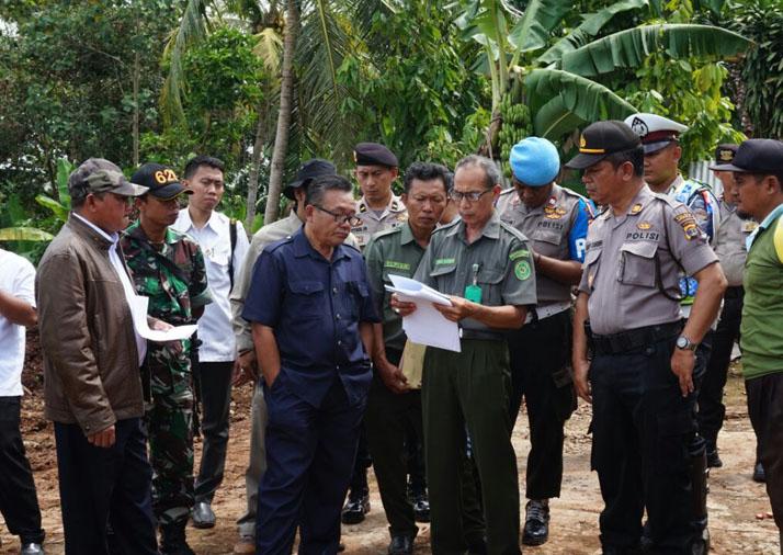 36 Bidang Lahan di Candipuro Dieksekusi untuk JTTS