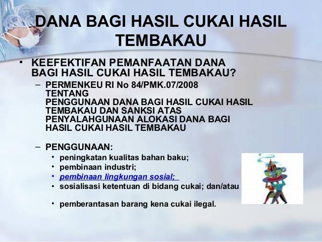 LAMPUNG POST   Lambar Peroleh Dana Bagi Hasil Cukai Tembakau Sebesar Rp3,2 Miliar