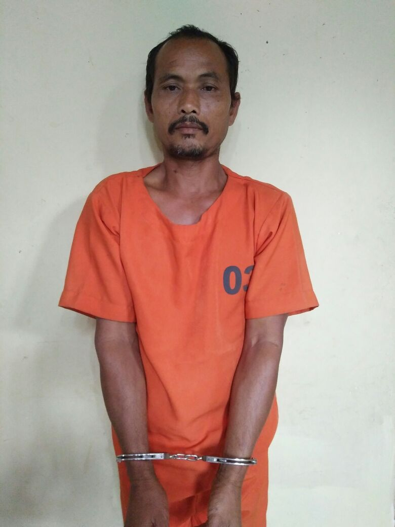 LAMPUNG POST | Polisi Ringkus Tersangka Pencabulan Anak di Tuba