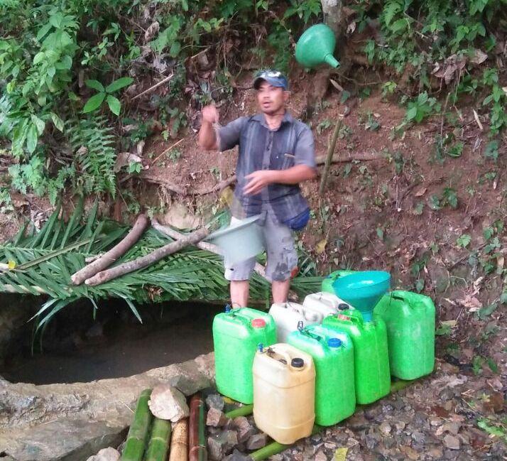 LAMPUNG POST | Warga Dusun Sukamandi,Babatan Harapkan Bantuan Sumur Bor