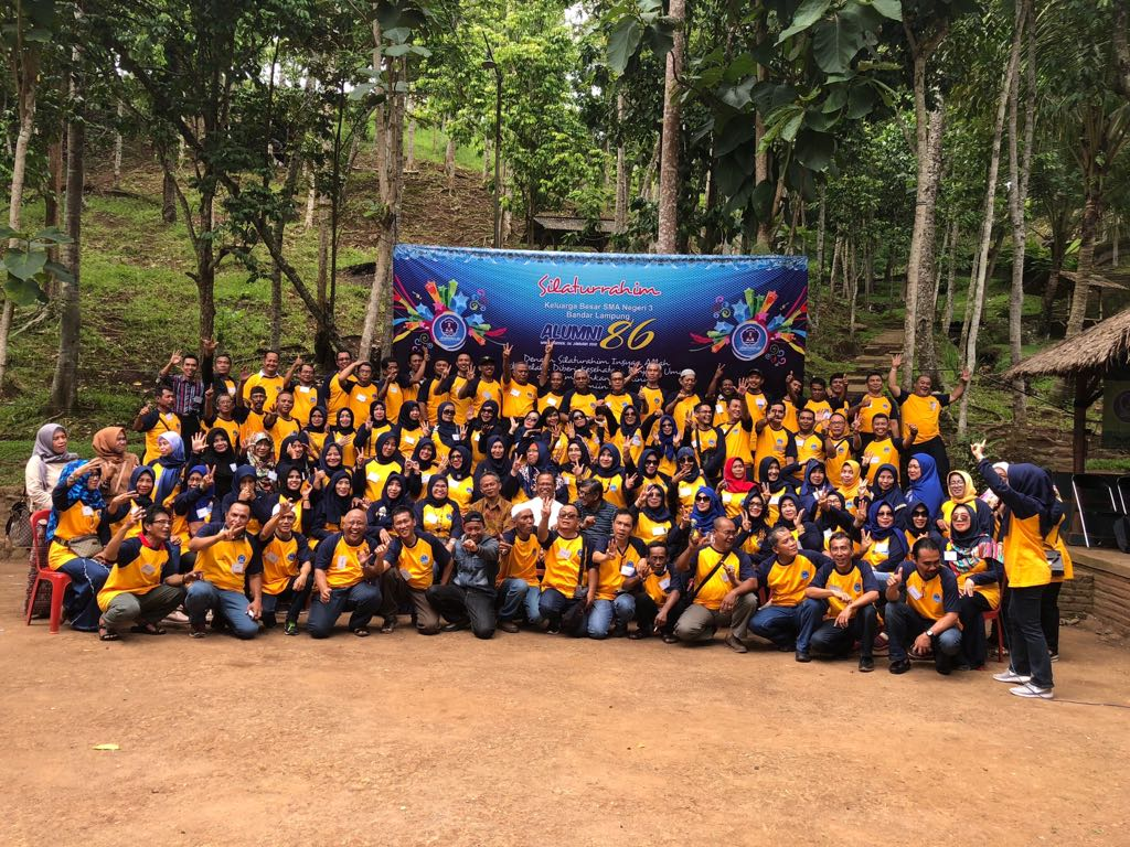 Alumni SMAN 3 Angkatan ke-86 Gelar Reuni dan Milad Ukhuwah Alumni