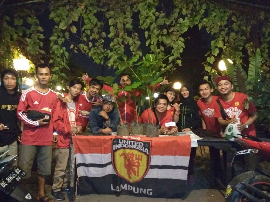 LAMPUNG POST | Rayakan HUT ke-11, United Indonesia Tanam Pohon Serentak