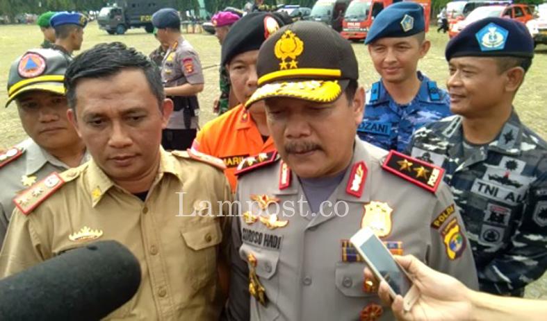 LAMPUNG POST   Lampung Masuk Zona Merah Rawan Bencana Alam