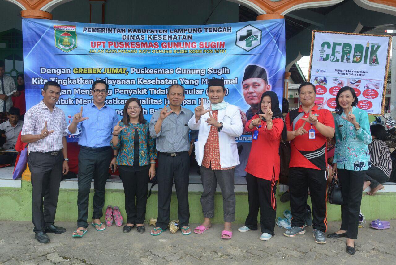 LAMPUNG POST | Puskesmas Gunungsugih Lampung Tengah Juara Nasional Lomba IVA