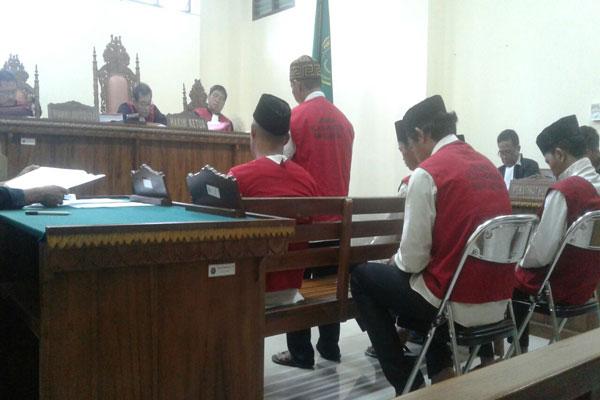Hakim PN Tanjungkarang Vonis Mati Empat Terdakwa Narkoba