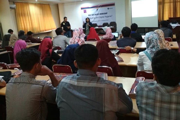 AJI Bandar Lampung Gelar Workshop Antisipasi Hoaks