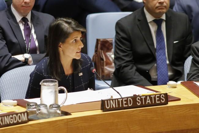 LAMPUNG POST | Dubes AS Ancam Hancurkan Korut dalam Sidang Umum PBB