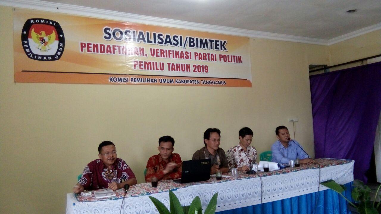 LAMPUNG POST | KPU Tanggamus Bersiap Menghadapi 3 Agenda Pemilu