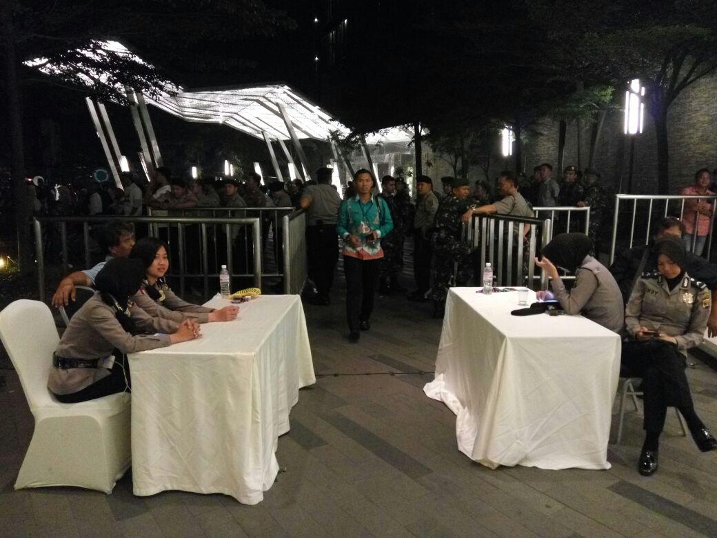 Pengamanan Debat Kandidat Dilakukan Berlapis