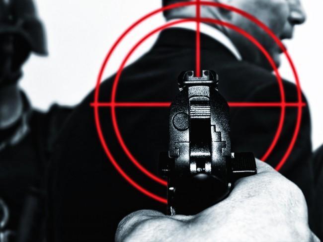 LAMPUNG POST | Dua Polisi Bima Ditembak Orang tak Dikenal Usai Antar Anak Sekolah