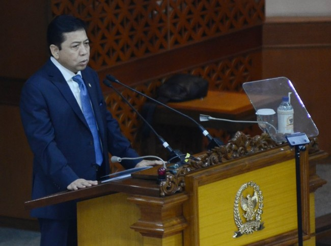 LAMPUNG POST   Pakar Hukum: Orang Awam Saja Tahu Novanto Sedang Berkelit