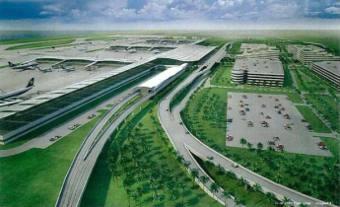 Hijaunya Rumput Bandara
