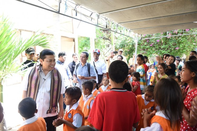 LAMPUNG POST | Novanto Pilih Kunker ke NTT, Ketimbang Penuhi Panggilan KPK