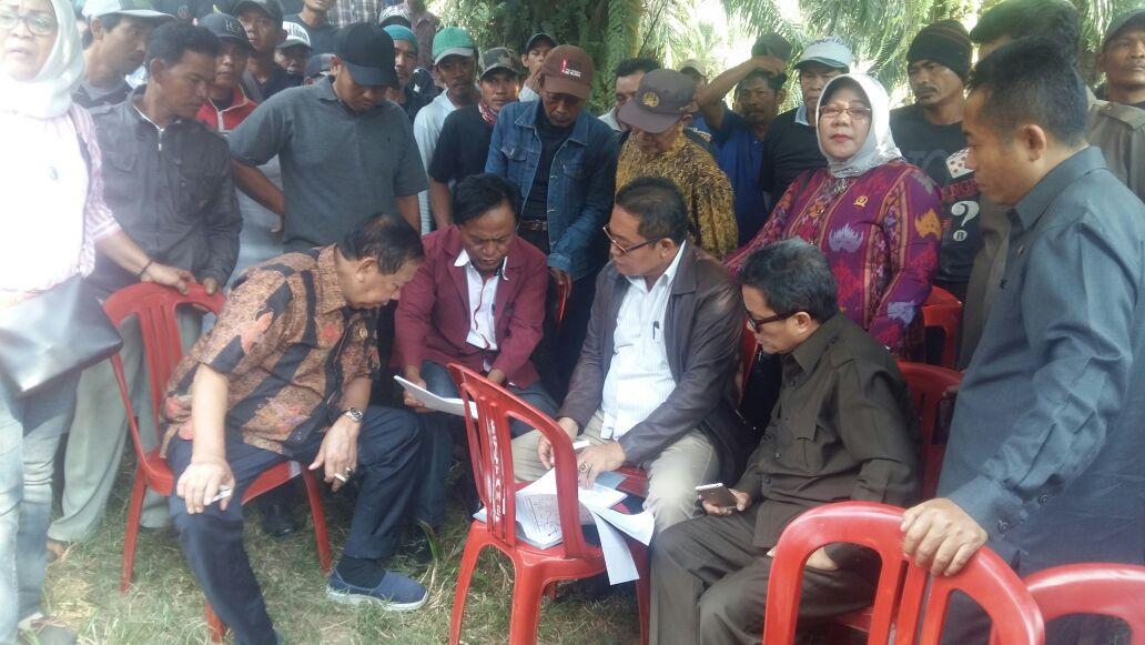 LAMPUNG POST | Komisi I DPRD Lampung Cek Dugaan Pencaplokan Lahan