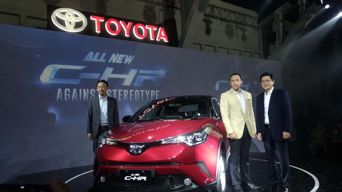 Toyota All New C-HR Resmi Mengaspal