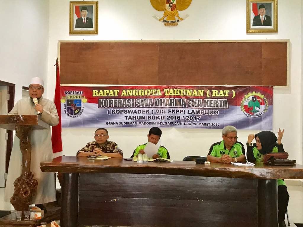 LAMPUNG POST | Kopswadek VIII FKPPI Lampung Gelar RAT