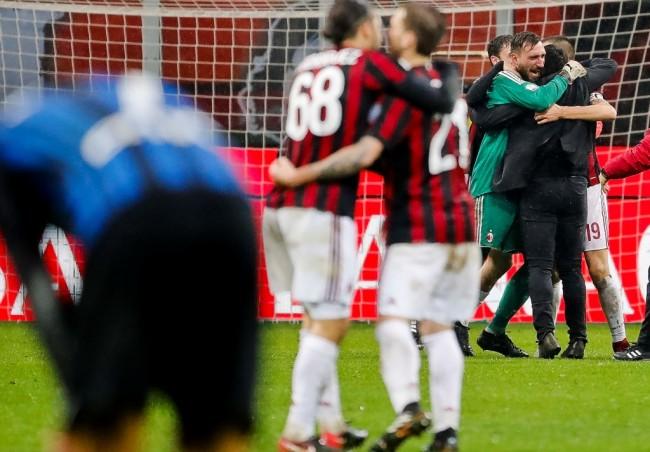 Tekuk Inter, AC Milan Tantang Lazio di Semifinal Coppa Italia