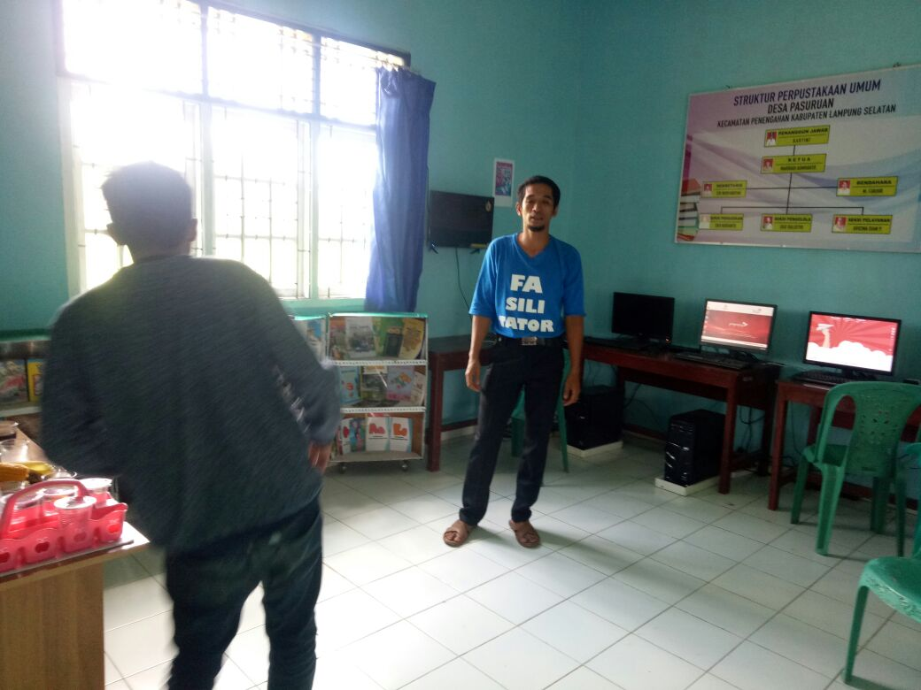 Perpuseru Desa Pasuruan Dikembangkan untuk Mendapatkan Penghasilan