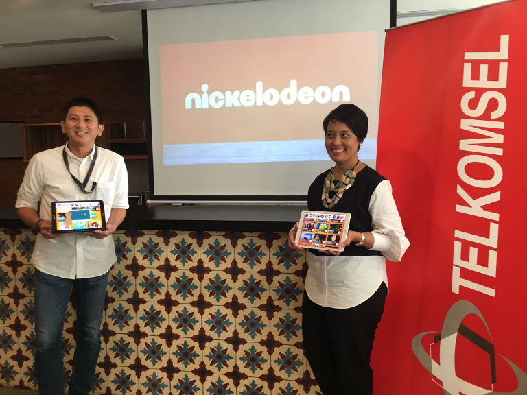 LAMPUNG POST | Nickelodeon Gandeng Telkomsel Luncurkan Nickelodeon Play