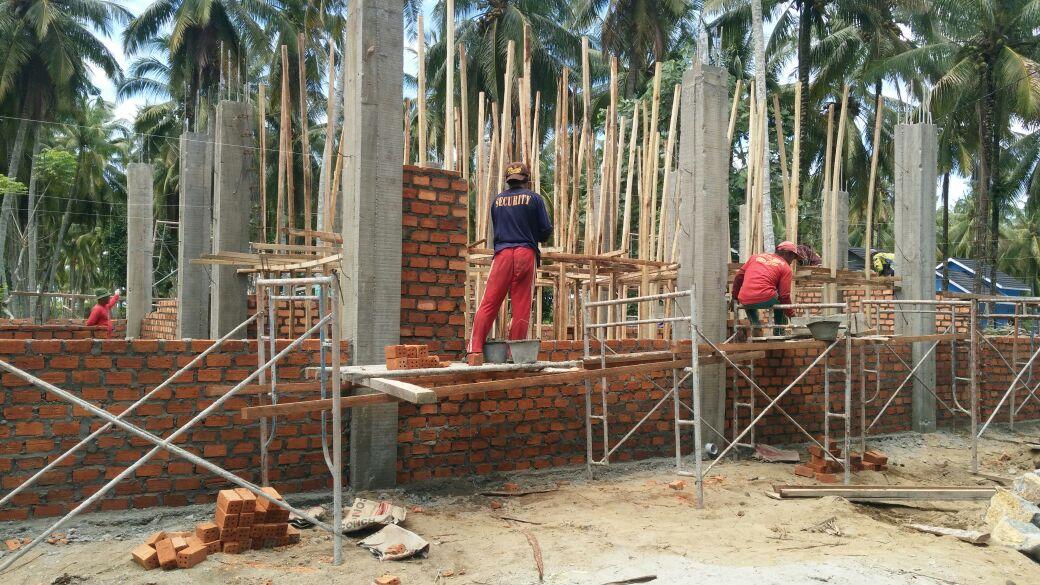 LAMPUNG POST   Tak Ada Papan Informasi, Pembangunan Puskesmas Krui Selatan Dinilai Kurang Transparan