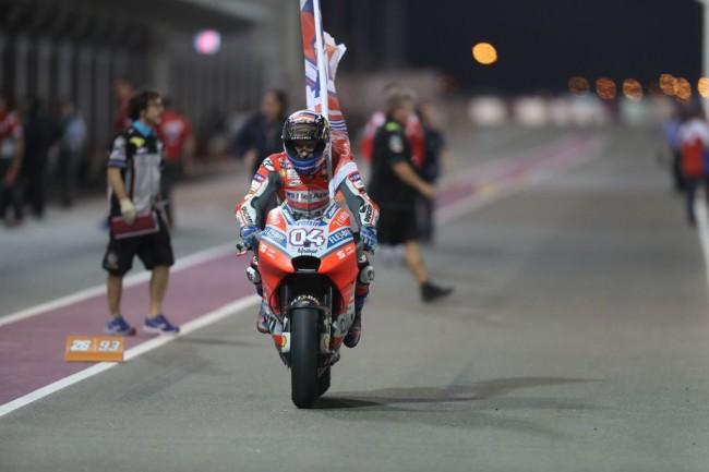 LAMPUNG POST | Dovizioso Tercepat di MotoGP Qatar Usai Duel Sengit dengan Marquez