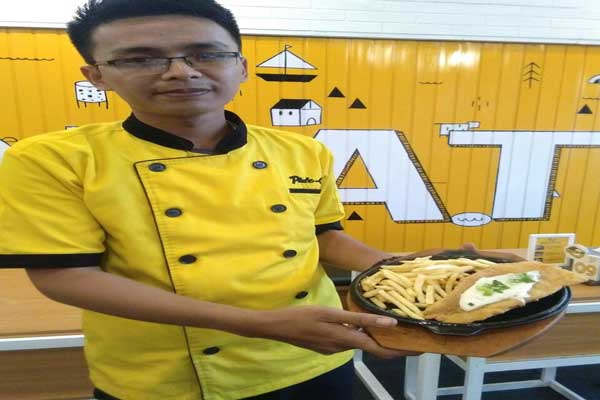 LAMPUNG POST | Kriuk! Renyah-Gurih Fish and Chips