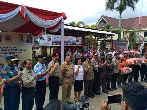 LAMPUNG POST   Tiga Provinsi Akhiri Status Siaga Darurat Kebakaran Hutan