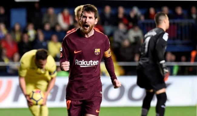 Cetak 525 Gol, Messi Sejajar dengan Legenda Muenhen