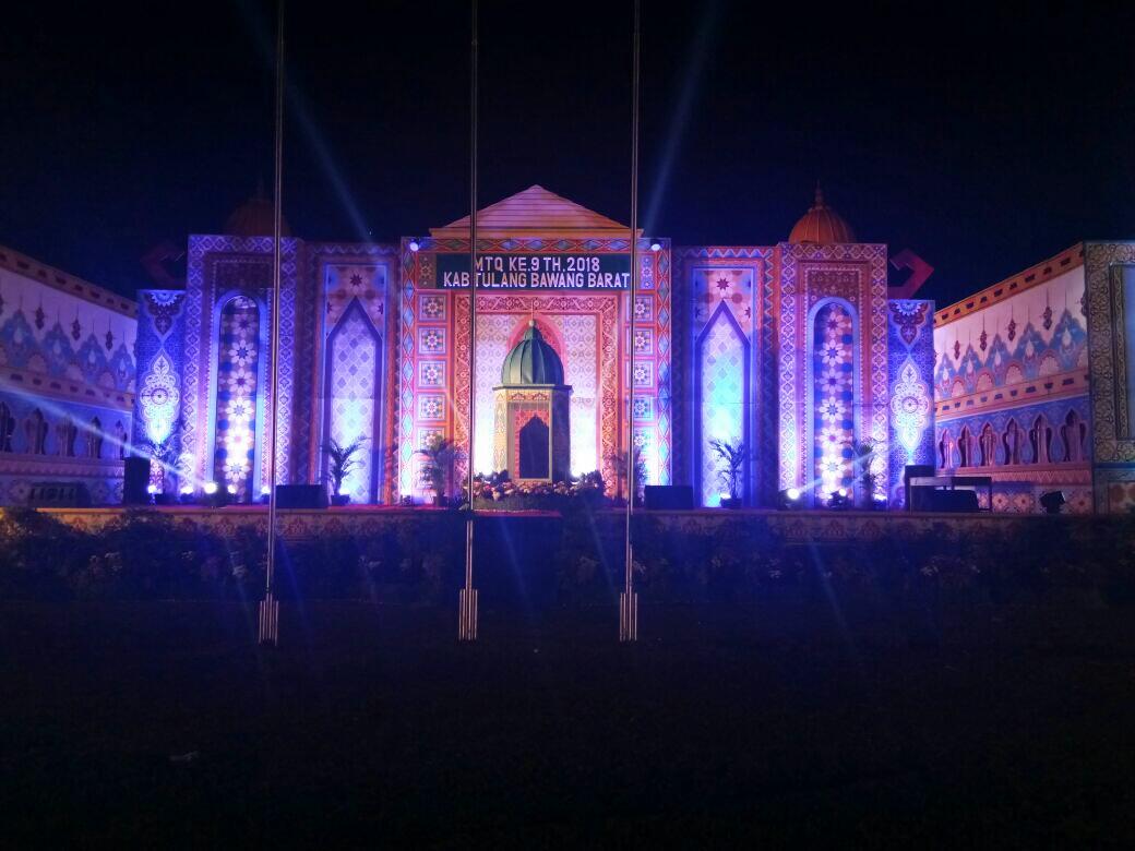 LAMPUNG POST | LAMPOST TV: Pawai Ta'aruf dan Pembukaan Bazar Meriahkan MTQ ke-9 Tubaba