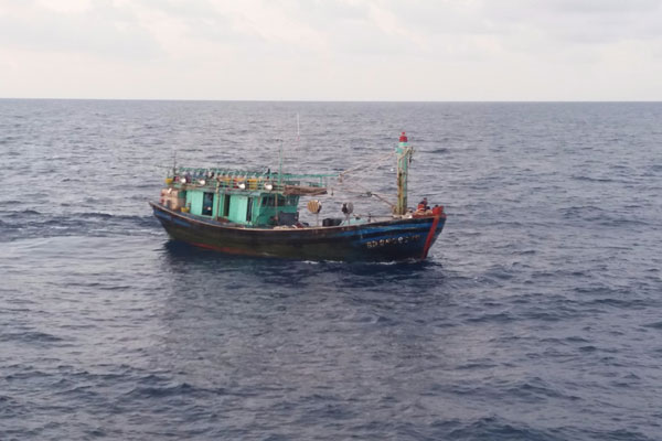LAMPUNG POST | Lagi, Kapal Nelayan Asing Ilegal Ditangkap