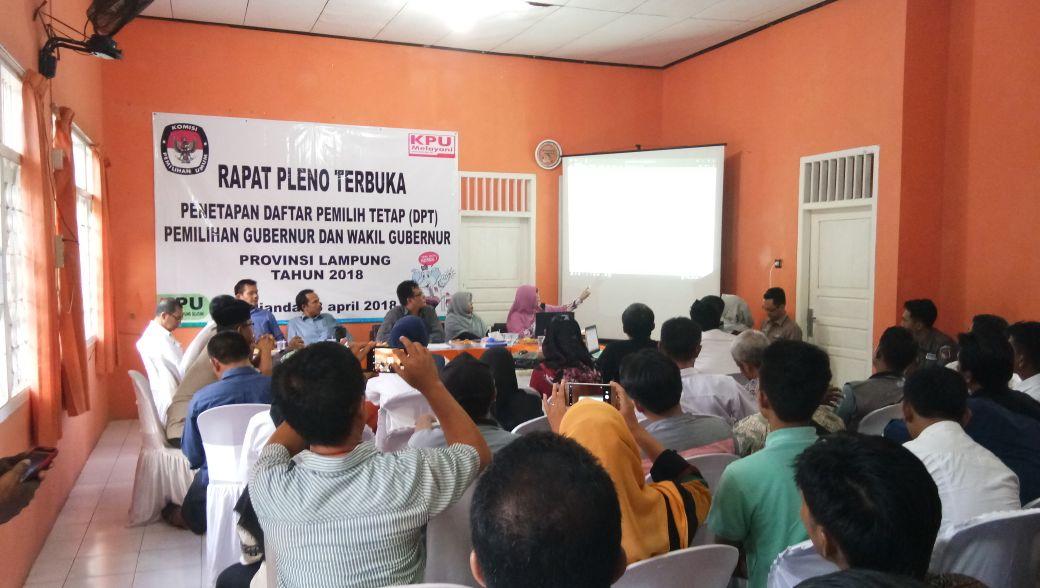 1.537 Pemilih Potensial di Lampung Selatan Belum Miliki KTP-el