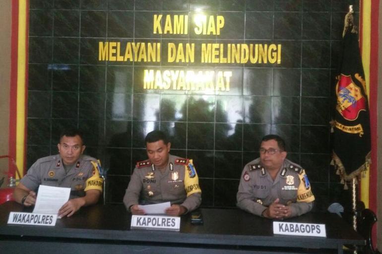 LAMPUNG POST | Polres Way Kanan Pastikan Netral Hadapi Pilkada 2018