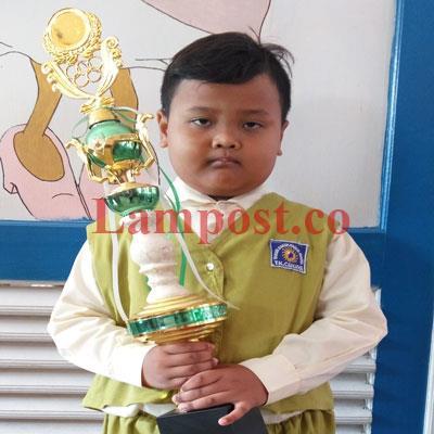 LAMPUNG POST   Firly Penghafal Surah Pendek Alquran