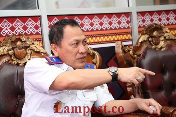LAMPUNG POST | Dishub Lampung Berencana Tahan Angkutan Batu Bara