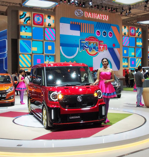 LAMPUNG POST | Daihatsu Move Canbus Sporza Goda Pengunjung GIIAS