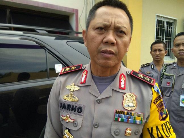 LAMPUNG POST | Kapolda Isyaratkan Tahan Kadiskes Lampung Timur