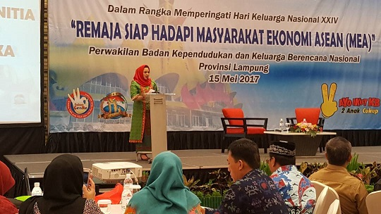 LAMPUNG POST | Generasi Muda Lampung Dituntut Mampu Hadapi MEA