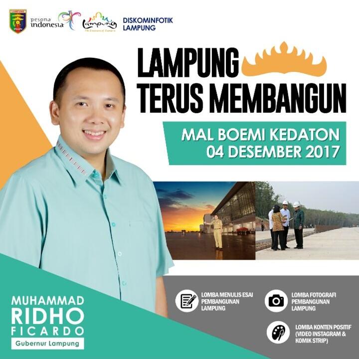 Panitia Siapkan Doorprize bagi Pengunjung Puncak Acara Trilomba Lampung Membangun