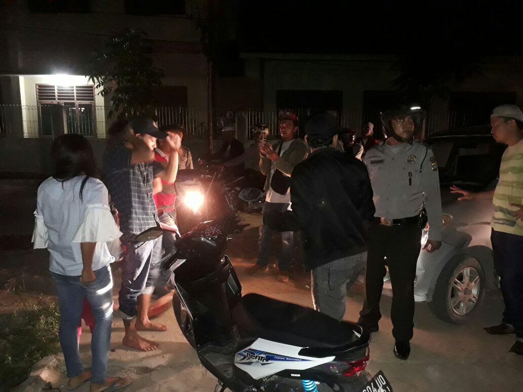 LAMPUNG POST | Empat Pasangan Bukan Pasangan Sah Terjaring Razia Operasi Sikat II Krakatau 2017